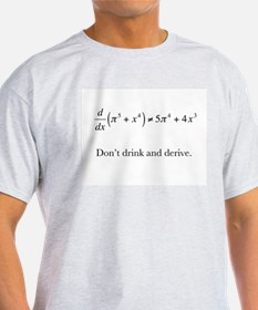 Dont drink and derive.jpg T-Shirt