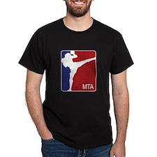 U.S. FLAG MTA Black T-Shirt