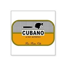 CUBANO el 100% Autentico Alternate Sticker