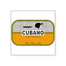 CUBANO el 100% Autentico Alternate Sticker