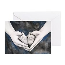 Heart in my Hands Greeting Cards (Pk of 10)