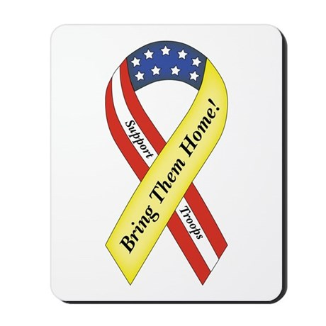 Bring the Troops Home! Mousepad