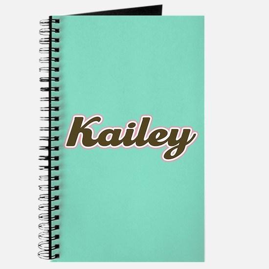 Kailey Aqua Journal
