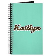 Kaitlyn Aqua Journal