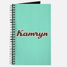 Kamryn Aqua Journal