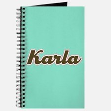 Karla Aqua Journal