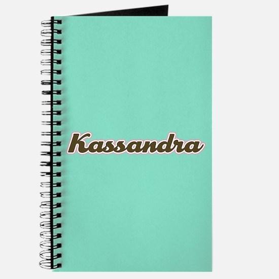 Kassandra Aqua Journal