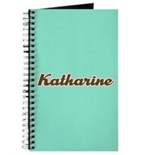 Katharine Aqua Journal