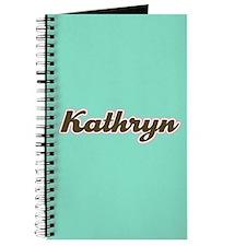Kathryn Aqua Journal