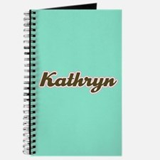 Kathryn Aqua Journal