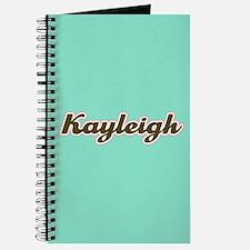 Kayleigh Aqua Journal