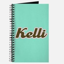 Kelli Aqua Journal