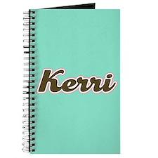 Kerri Aqua Journal