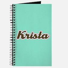 Krista Aqua Journal