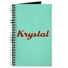 Krystal Aqua Journal