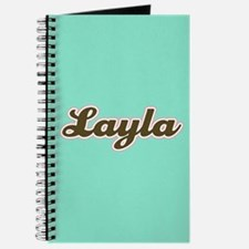 Layla Aqua Journal
