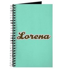 Lorena Aqua Journal