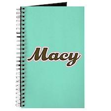 Macy Aqua Journal
