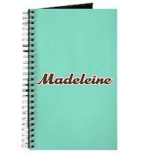 Madeleine Aqua Journal