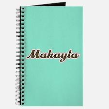 Makayla Aqua Journal