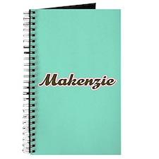 Makenzie Aqua Journal