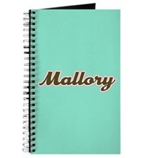 Mallory Aqua Journal