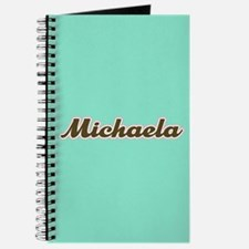 Michaela Aqua Journal