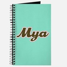 Mya Aqua Journal