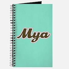 Mya Aqua Journal