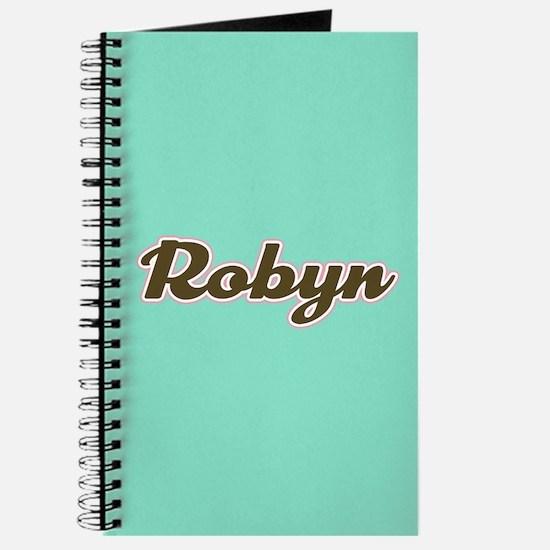 Robyn Aqua Journal