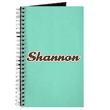 Shannon Aqua Journal