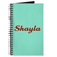 Shayla Aqua Journal