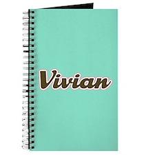 Vivian Aqua Journal