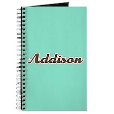 Addison Aqua Journal