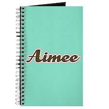 Aimee Aqua Journal