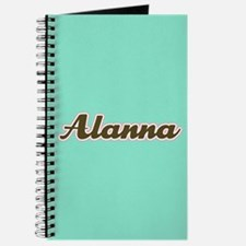 Alanna Aqua Journal
