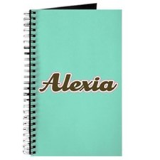 Alexia Aqua Journal