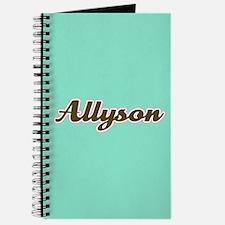 Allyson Aqua Journal