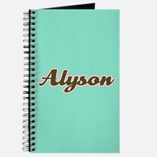 Alyson Aqua Journal