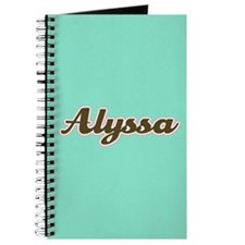 Alyssa Aqua Journal