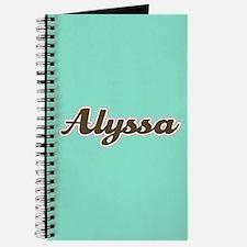 Alyssa Aqua Journal