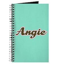 Angie Aqua Journal
