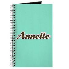 Annette Aqua Journal