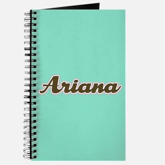 Ariana Aqua Journal
