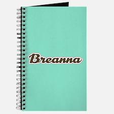 Breanna Aqua Journal