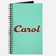 Carol Aqua Journal