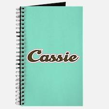 Cassie Aqua Journal