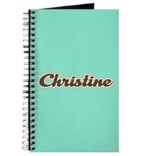 Christine Aqua Journal