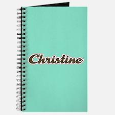 Christine Aqua Journal
