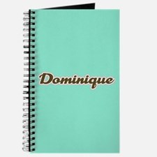 Dominique Aqua Journal